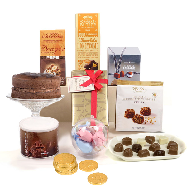 Hay Hampers Chocolate Heaven Gift Box No Colour
