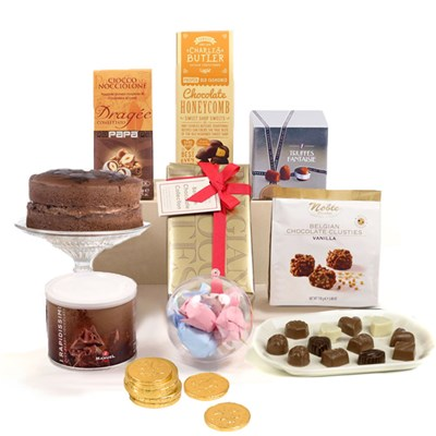 Hay Hampers Chocolate Heaven Gift Box