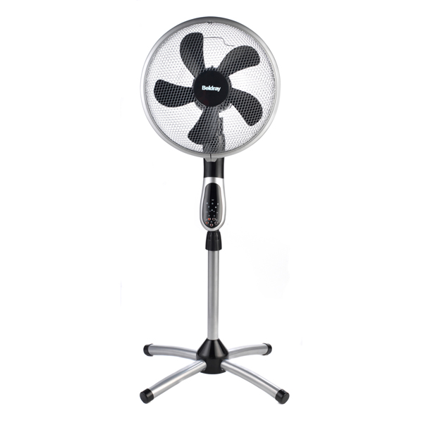 Beldray 360 Degree 16-inch Pedestal Fan No Colour