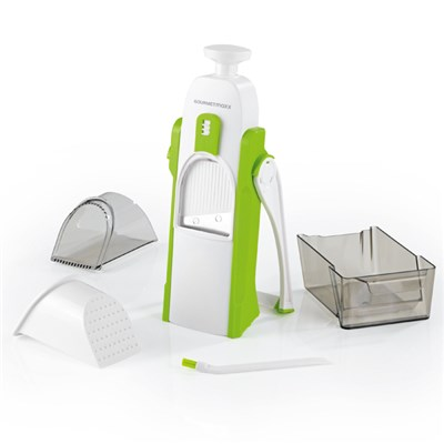 GourmetMAXX Multi Vegetable Slicer Push N Ready