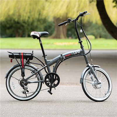 eLife Infusion 6sp 24V 250W Folding Electric Bike with 20inch Wheels