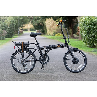 eLife QDOS 6sp 24V 250W Folding Electric Bike with 20inch Wheels