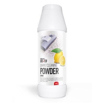 Problem Solved Lemon Carpet Cleaning Powder