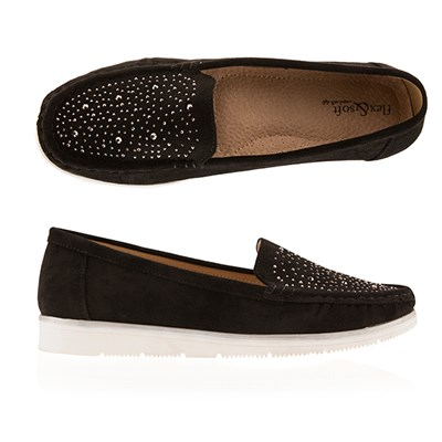 Flex & Soft Embellished Loafer