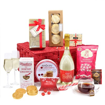 Hay Hampers Chocolate Sparkle Gift Basket