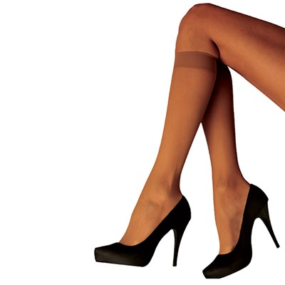 Bianca Miller London Nude Knee High (4 Pairs)