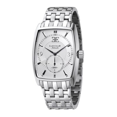 Thomas Earnshaw Gent's Robinson Automatic Watch with Stainless Steel Bracelet