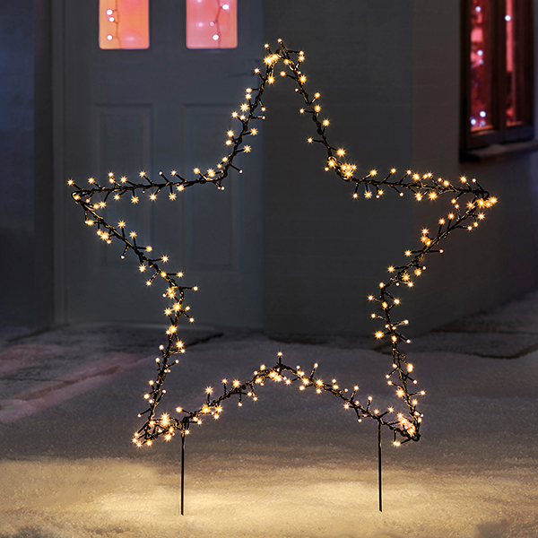 225 LED Outdoor Star Light G4319 No Colour