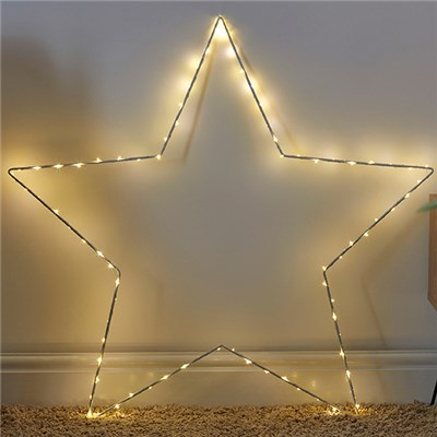 80 LED Wire Star Light - 90cm