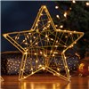 70 LED 3D Star Light - Gold