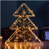 70 LED 3D Xmas Tree Light - Gold