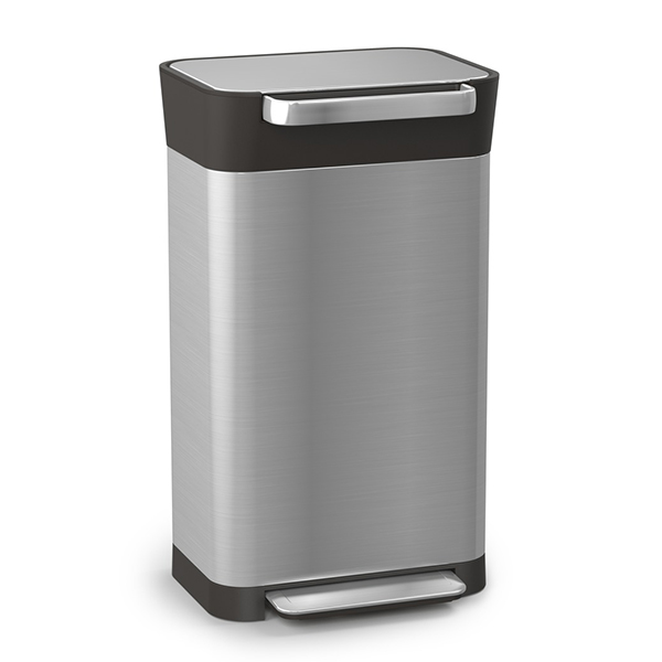 Joseph Joseph Titan Stainless Steel 30 Bin No Colour