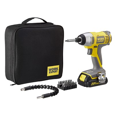 Work Expert 20V Cordless Driver Set