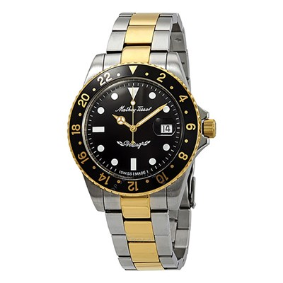 Mathey-Tissot Gent's Rolly Automatic Two Tone with Stainless Steel Bracelet
