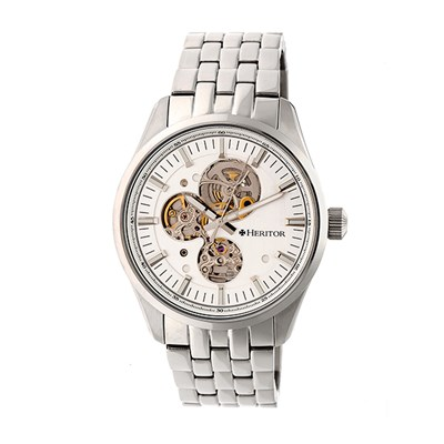 Heritor Gent's Automatic Stanley Watch with Stainless Steel Bracelet