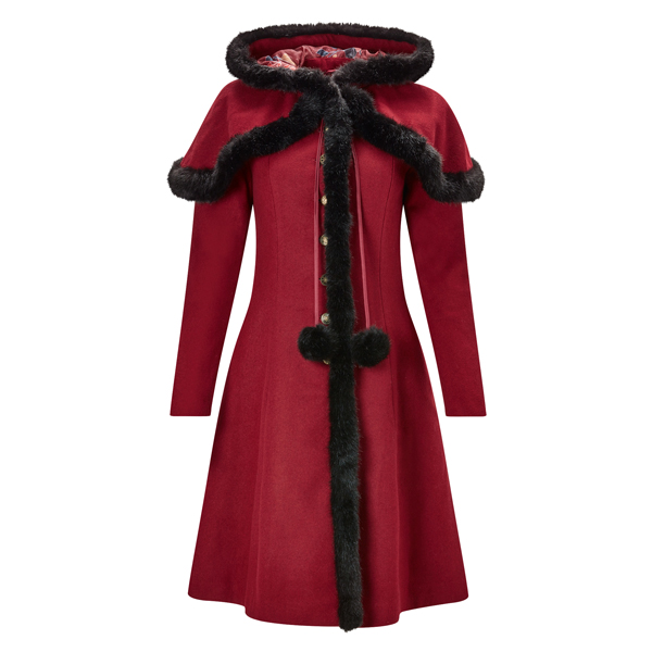 Joe Browns Beautiful Belle Coat Red