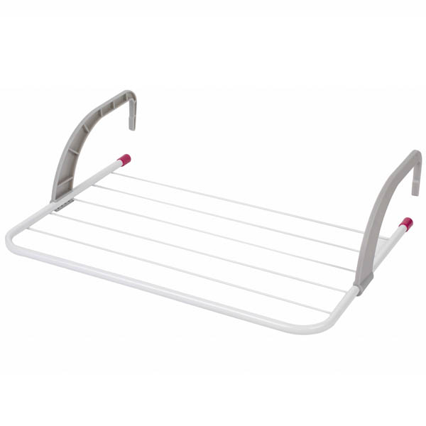 Kleeneze 6 Bar Radiator Clothes Airer No Colour