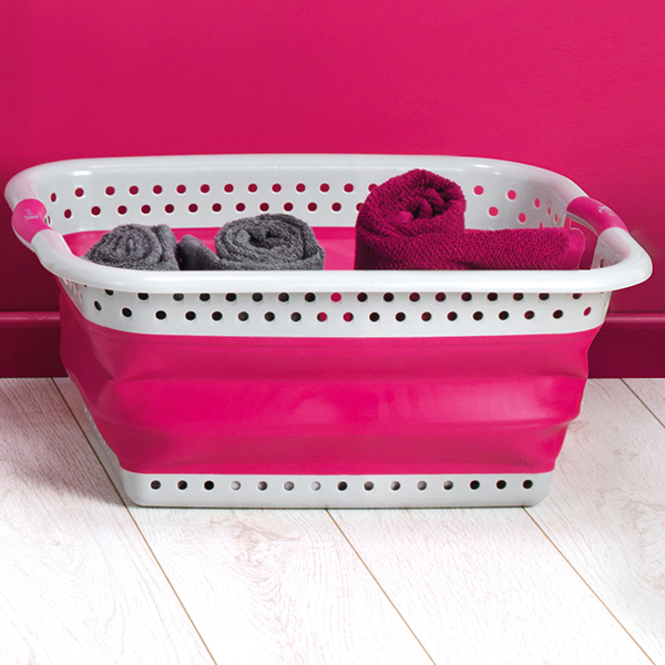 Kleeneze Collapsible Laundry Basket No Colour