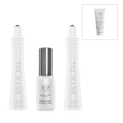 Crystal Clear The Wand Easy Lift Chopstick Facial with Serum 25ml + Voucher