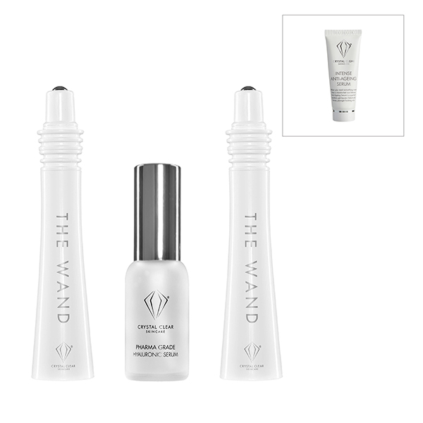 Crystal Clear The Wand Easy Lift Chopstick Facial with Serum 25ml + Voucher No Colour