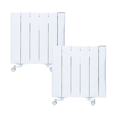 Warm Home 1500W Ceramic Radiator (Twin Pack)