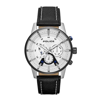 Police Gent's Avondale Watch with Genuine Leather Strap
