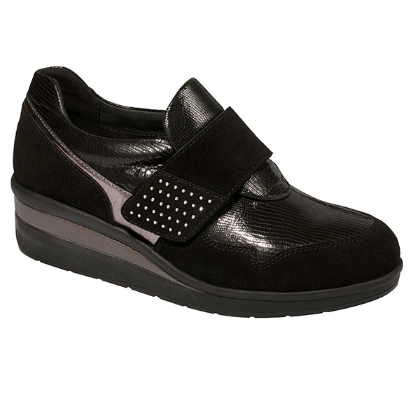 Scholl One Touch Terelle Leisure Shoe Black