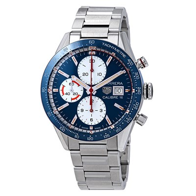 TAG Heuer Gent's Carrera Calibre 16 Chronograph Watch