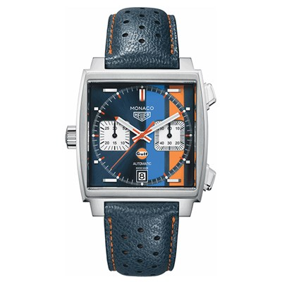 TAG Heuer Gent's Monaco Gulf Special Calibre 11 Automatic Chronograph Watch