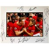 Manchester United Framed Photo Mount Multi Signed