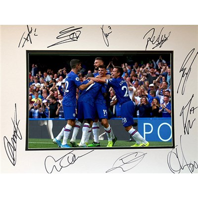 Chelsea FC Framed Multi Signed Photo Mount