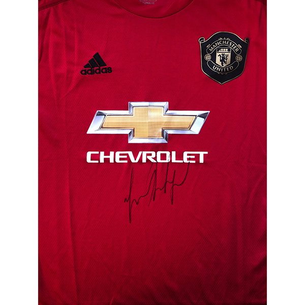 Marcus Rashford Personally Signed Manchester United Shirt No Colour