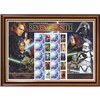 Star Wars Revenge of the Sith Framed Rare Australian Collectors Stamps Sheetlet