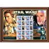 Star Wars Framed Attack of the Clones Rare Stamps Sheetlet