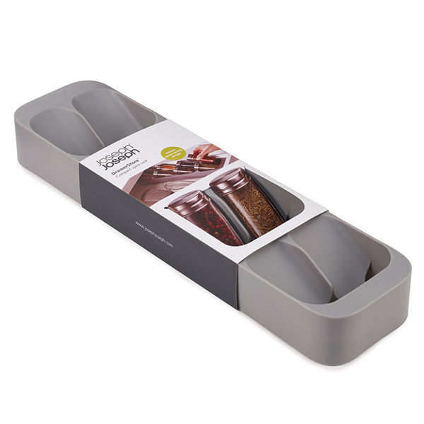 Joseph Joseph Grey DrawerStore Spice Tray No Colour