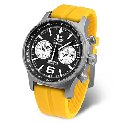 Vostok Europe Gent�s Automatic Expedition N1 Watch with Silicone Strap