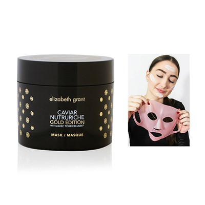 Elizabeth Grant Caviar Nutruriche Gold Edition Mask 200ml with Silicone Mask