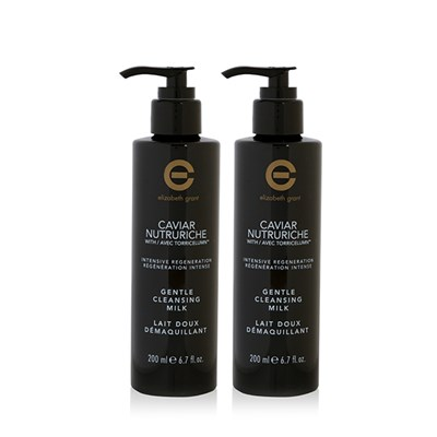 Elizabeth Grant Caviar Nutruriche Cleansing Milk 200ml Twin Pack