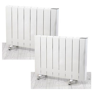Beldray 2000W Ceramic Radiator with Wi-Fi (Twin Pack)