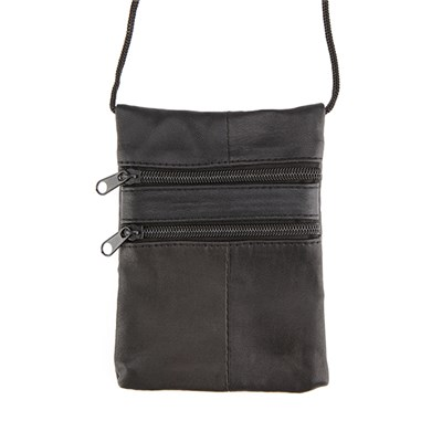 Woodland Leather Cross Body Purse