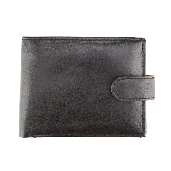 Woodland Leather Wallet Black