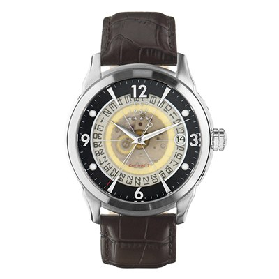 CCCP Gent's Sputnik Slava Automatic Watch with Genuine Leather Strap