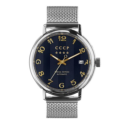 CCCP Gent's Heritage Slava Mechanical Automatic Watch with Milanese Bracelet
