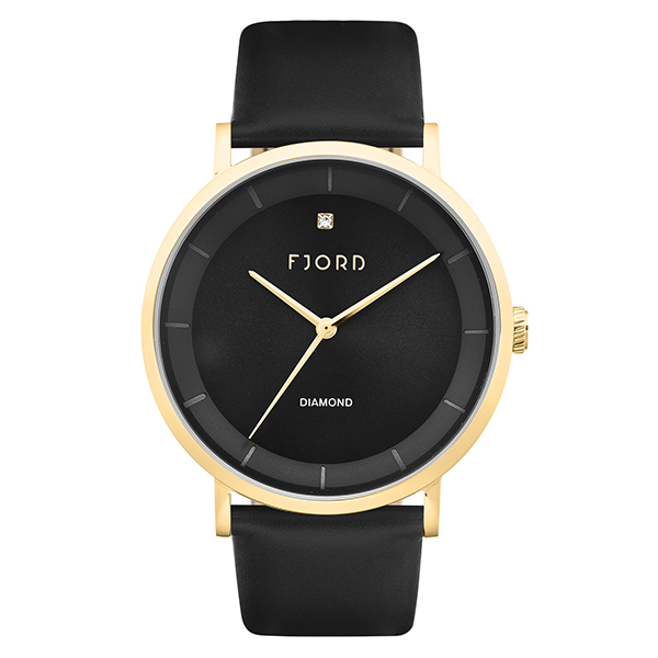 Image of Fjord Gent's Jensen Watch with Genuine Leather Strap