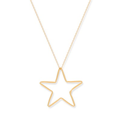 Boho Betty Sterling Silver Star Necklace