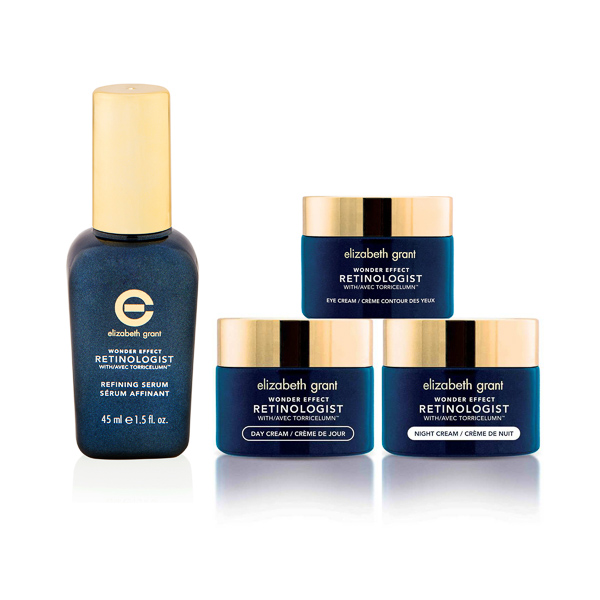 Elizabeth Grant Day and Night Complete Retinologist 4pc Collection No Colour