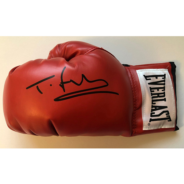 Tyson Fury Personally Signed Boxing Glove No Colour