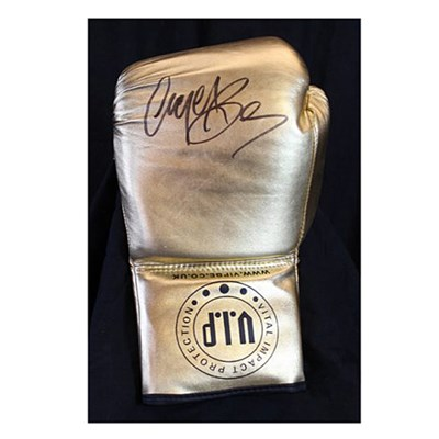 Nigel Benn Personally Signed Boxing Glove