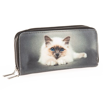 Cat Zip Purse