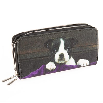 Dog Zip Purse